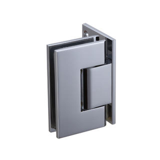 Shower door hinge - Glass to Wall NHSH205SQ - Brass hinge