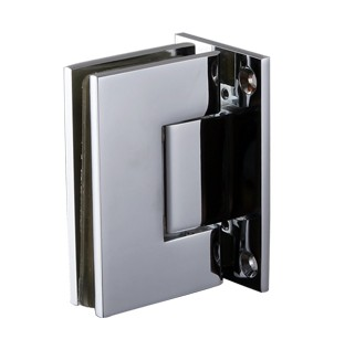 glass to wall shower door hinge