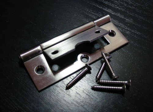 Non mortise hinge 89mm Stainless Steel SOLD OUT