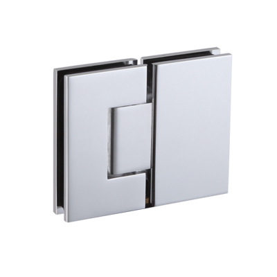 Shower door hinge - Glass to Glass NHSH204SQ - Brass hinge